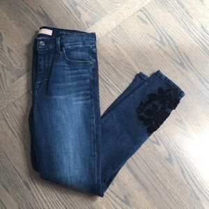 7 For All Mankind High Waisted Super Skinny Jeans